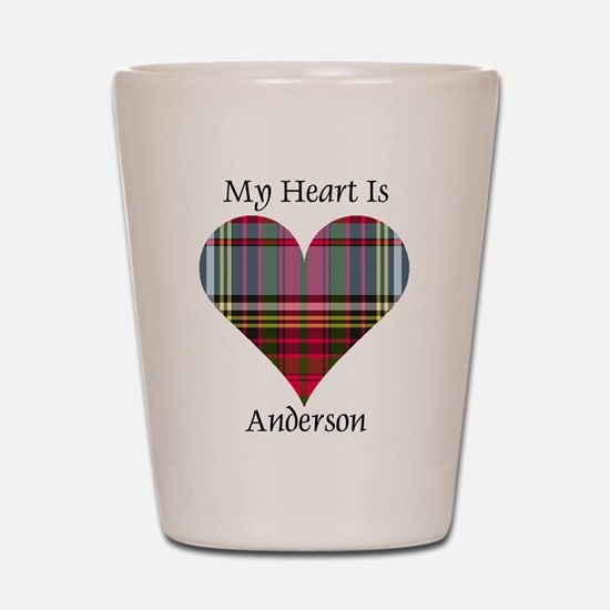 Heart - Anderson Shot Glass