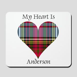 Heart - Anderson Mousepad