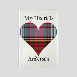 Heart - Anderson Rectangle Magnet