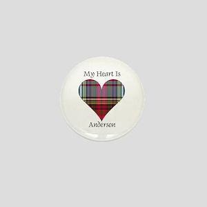 Heart - Anderson Mini Button