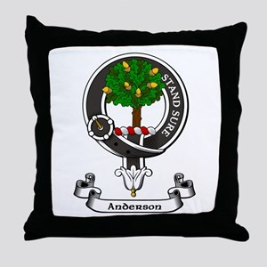 Badge - Anderson Throw Pillow