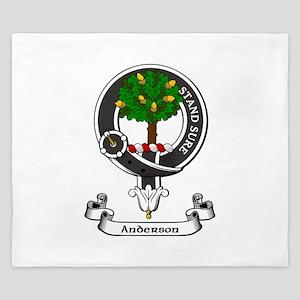 Badge - Anderson King Duvet
