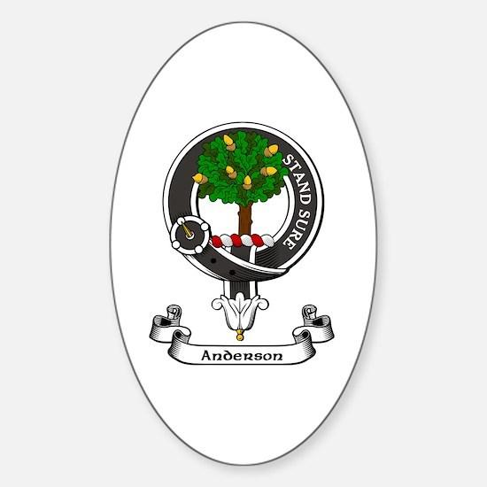 Badge - Anderson Sticker (Oval)