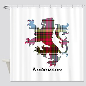 Lion - Anderson Shower Curtain