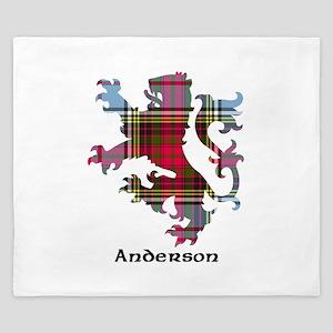 Lion - Anderson King Duvet