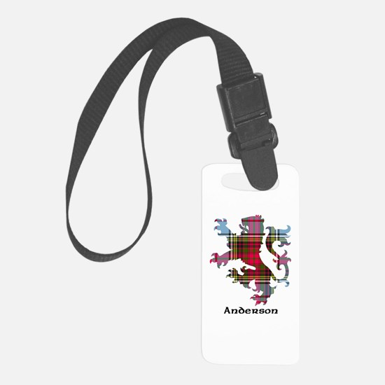Lion - Anderson Luggage Tag