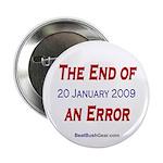 """End of an Error"" 2.25"" Button (100)"