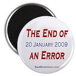 """""""End of an Error"""" 2.25"""" Magnet (100)"""