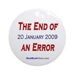 """""""End of an Error"""" Ornament (Round)"""