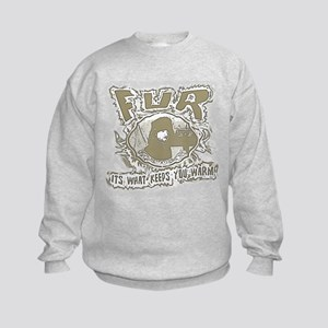 perfect pro trapper gift or s Kids Sweatshirt
