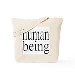 279.human being Tote Bag