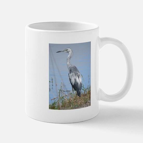 Blue Heron By The Water Mugs