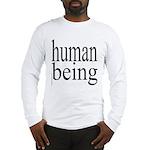 279.human being Long Sleeve T-Shirt