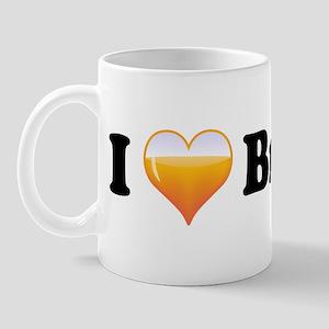 I Love Brandy Mug