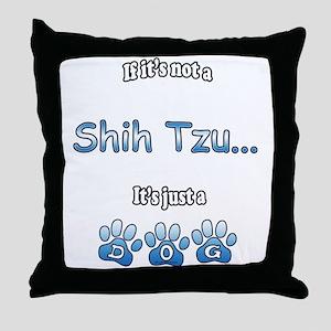 Shih Tzu Not Throw Pillow