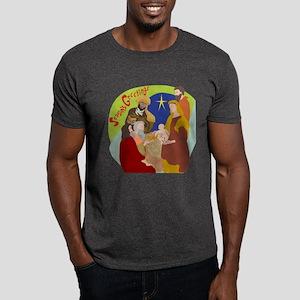 Colorful Nativity Dark T-Shirt