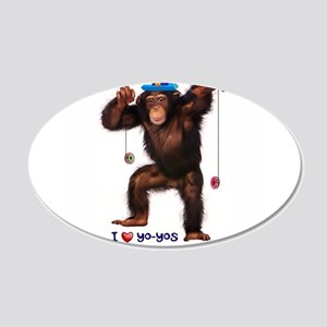 I Heart Yo-yos Wall Decal