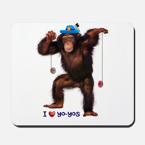 I Heart Yo-yos Mousepad