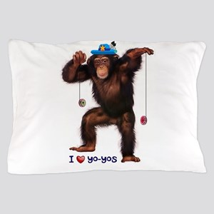 I Heart Yo-yos Pillow Case