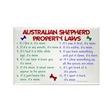 Australian shepherd Magnets