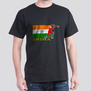 India Cricket Player T-Shirt