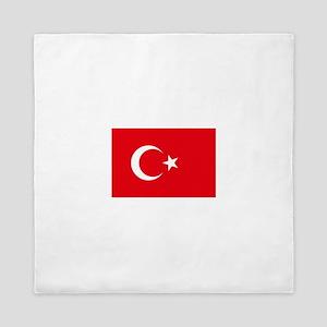 Flag of Turkey - Türk bayragi Queen Duvet