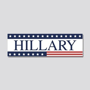 Hillary Clinton Car Magnet 10 x 3