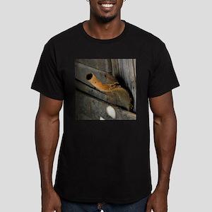 Rusty Shovel Men's Fitted T-Shirt (dark)
