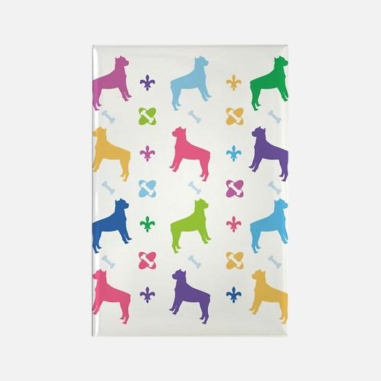 American Staffordshire Terrier Designer Rectangle