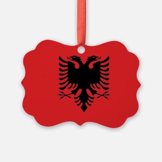 Albania Ornament