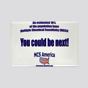 MCS America - You Could Be Ne Rectangle Magnet