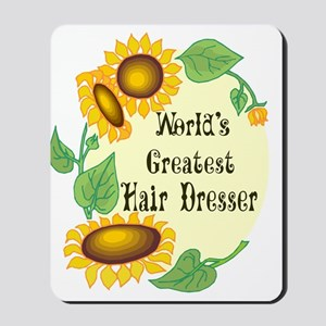 World's Greatest Hair Dresser Mousepad