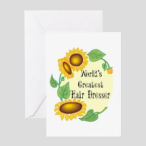 World's Greatest Hair Dresser Greeting Card