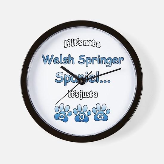 Welsh Springer Not Wall Clock
