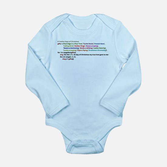 The Twelve Days of Christmas in Python Body Suit