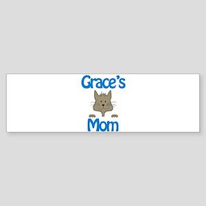Grace's Mom Bumper Sticker