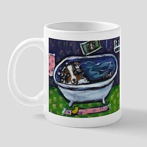 Australian Shep Blue Merle Ba Mug