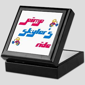 Pimp Skylar's Ride Keepsake Box