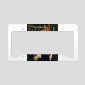 nixon and hillary clinton License Plate Holder