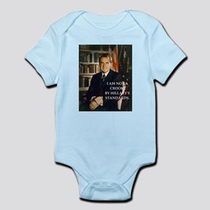 nixon and hillary clinton Body Suit
