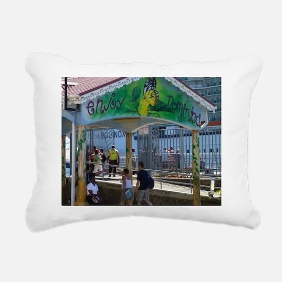Dominica Rectangular Canvas Pillow