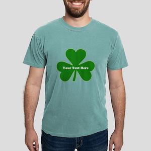 Shamrock Name Personaliz Mens Comfort Colors Shirt
