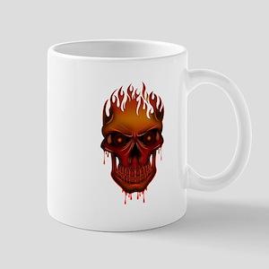 Flame Skull Mugs