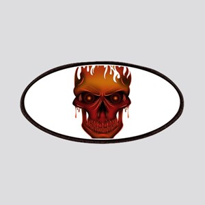 Flame Skull Patch