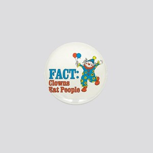 clowns eat people Mini Button