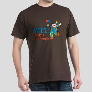 clowns eat people Dark T-Shirt