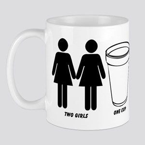Two Girls One Cup Mug