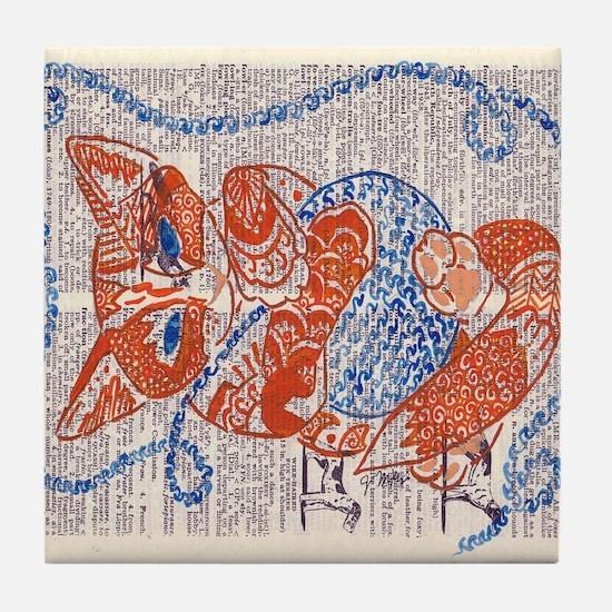 Mr. Fox Tile Coaster