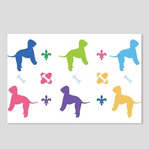 Bedlington Terrier Designer Postcards (Package of