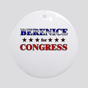 BERENICE for congress Ornament (Round)